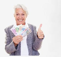 mummo ja rahaa